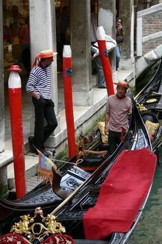 Venezia - Carota Katia - Gondolieri - Venice, Gondoliers #Italy