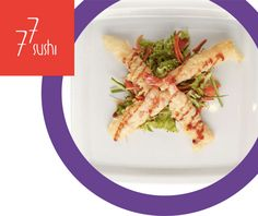Ebi Fry to nic innego jak krewetki podawane na sałatce sezonowej :) Próbowaliście już tej przystawki? :) Sashimi, Green Beans, Carrots, Menu, Vegetables, Food, Menu Board Design, Veggies, Essen