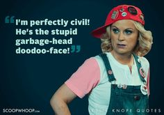 22 Quirky Quotes By Parks & Recreation's Leslie Knope That Are Oddly Inspiring Parks N Rec, Parks And Recreation, Leslie Knope Quotes, Quirky Quotes, Cricut Ideas, Celebrities, Party, Movies, Celebs