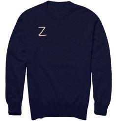 Team Zissou Sweater Navy Crew Neck Jumper Unisex - Wes-Anderson.com   - 1
