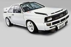 Audi Sport Quattro - when Rally Cars weren't family hatchbacks. Audi Sport, Sport Cars, Race Cars, Sport Sport, Audi 80, Audi Cars, Classic Motors, Classic Cars, Bmw E36