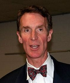Bill Nye.  Spoke at Hanover College in February, 2009, wearing one of his ties from Beau Ties Ltd. of Vermont.