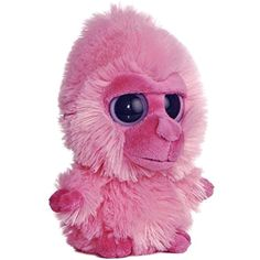 f30d1b654ae 5 Aurora Plush YooHoo Friends Pink Gorilla Monkey Stuffed Animal Toy New