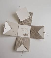Resultado de imagen para stampin up Pop Up Cards, Cool Cards, Book Making, Card Making, Fancy Fold Cards, Folded Cards, Exploding Gift Box, Scrapbook Box, Cool Paper Crafts