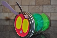 #3 Fun Decorations for a Very Hungry Caterpillar First Birthday Party {Decor Details } This mom put together an amazing array of Very Hungry Caterpillar decorations for her son's first birthday! #WorldEricCarle #HungryCaterpillar