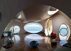 Pierre Cardins Bubble House Palais Bulles | Côte d'Azur, France | Antti Lovag | photo © Richard Powers