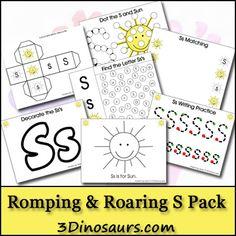 Free Romping & Roaring S Pack - 3Dinosaurs.com