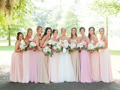 These colors have me swooning, I may really consider these hues instead of just blush!