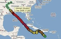 Hurricane Tracking Site