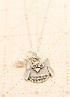 Wise Owl Necklace by Lisa Leonard