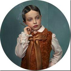 "Juxtapoz Magazine - ""Smoking Kids"" by Frieke Janssen Photomontage, Digital Collage, Collage Art, Matthieu Bourel, Smoking Photos, Illustration Arte, Kids Series, Glamour Shots, Photo Series"