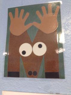 Letter M moose Letter M Activities, Preschool Letter Crafts, Alphabet Letter Crafts, Abc Crafts, Daycare Crafts, Preschool Themes, Classroom Crafts, Preschool Activities, Alphabet Book