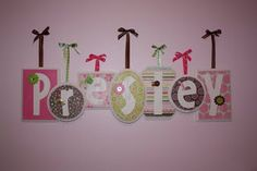 Cute name plaques