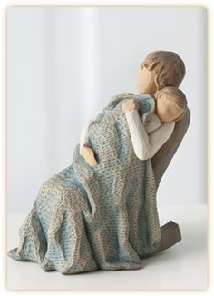 Willow Tree The Quilt figure - I love this!!!