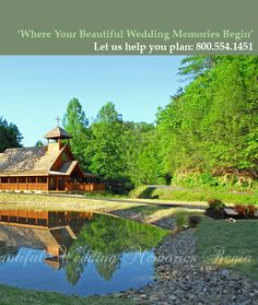 my wedding venue . . . the Little Log Chapel in Gatlinburg, TN  W,e married here in 9/2009, and it was awesome!  it was beautiful and it was stress free