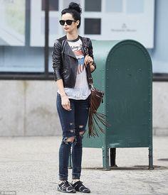 Love her style! <3 Krysten Ritter