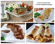 Parade's Community Table ~ 20 Pork Tenderloin Recipes that will help you get out of your dinner rut