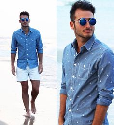 beach men's fashion
