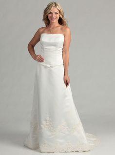 Eden Bridals 2180 Size 8 White