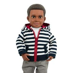 """Billy Action Doll, 18"""" boy doll, a doll for boys and for girls"""