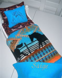 saige bed-she would love that it had horses on it