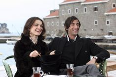 Still of Rachel Weisz and Adrien Brody in The Brothers Bloom