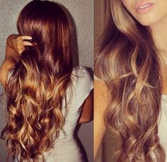 You can use honey to get ombre highlights :: Instructions and recipes for using honey to lighten hair.
