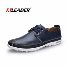 Casual Leather Shoes for Man 2015 Fashion Spring Mens Genuine Leather Shoes Oxfords Comfort Flat Designer Shoes Male Footwear Casual Leather Shoes, Casual Shoes, Martin Shoes, Fresh Shoes, Summer Shoes, Designer Shoes, Men's Shoes, Mens Fashion, High Fashion