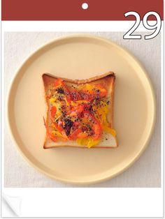 2016年は、トースト大ブレイクの年!? 6月から7月にかけては、アイデア満載のトーストを毎日連載。あんな素材もこんなソースも、ぜーんぶトーストにしちゃおう!
