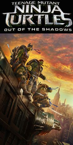 Get excited, the four turtles return in Teenage Mutant Ninja Turtles: Out of the Shadows, in theaters June 3, 2016! Join the adventure as they try to thwart off the evil Krang and Shredder. Get your tickets starting May 23, 2016.