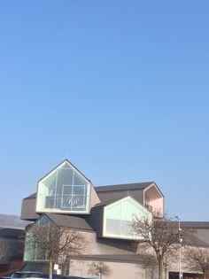 Le bâtiment de vitra