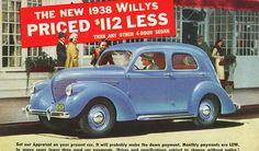 1938 Willys 4-Door Sedan