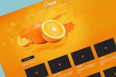 'Orange' A free psd website template Website Template, Templates, Orange, Free, Stencils, Vorlage, Models
