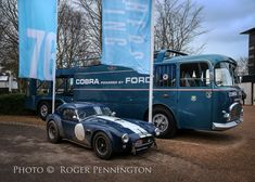 Scalextric Track, Shelby Daytona, 427 Cobra, Carroll Shelby, Goodwood Revival, Transporter, Vintage Racing, Automobile, Ford