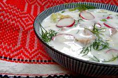 Okroshka, Russian cold soup