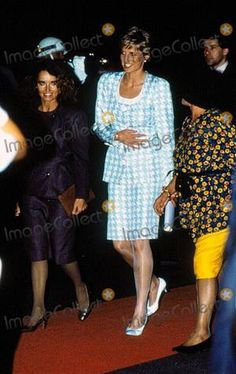"""Diana Charles Brazil Tour _ _ L'archevêque de Canterbury - 1991 Intronisation """""""