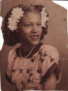 Lady, circa 1940