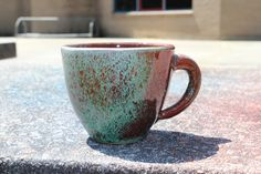 Yummy techno coffee tea cup
