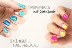 [Nageldesign] twin-nails mit frischlackiert