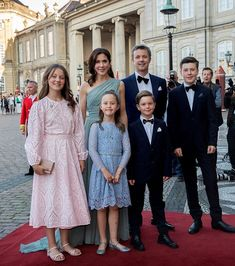 On the occasion of Prince Joachim's birthday, Queen Margrethe hosted a dinner at Christian VII Palace June).In attendance: The Queen, Crown Prince Frederik, Crown Princess Mary, Prince. Crown Princess Mary, Princess Alexandra, Prince And Princess, Denmark Royal Family, Danish Royal Family, Princess Athena Of Denmark, Royal Family Portrait, Danish Prince, Royal Families Of Europe