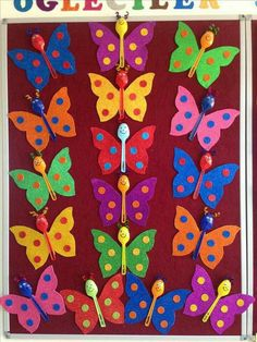 Butterfly crafts for kıds 3 funnycrafts – Artofit Preschool Crafts, Easter Crafts, Diy And Crafts, Crafts For Kids, Arts And Crafts, Diy Y Manualidades, Butterfly Crafts, Sunday School Crafts, Art N Craft