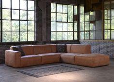 Elise hoekbank custom leer XL x 297 cm) 1002987 Sofa Furniture, Furniture Design, Living Divani, Home Interior, Interior Design, Happy New Home, Esschert Design, Living Room Furniture Arrangement, Living Room Seating