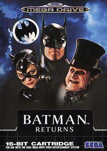 Batman Returns Game for the Sega Mega Drive (Genesis). Buy Now from Fully Retro! Classic Video Games, Retro Video Games, Video Game Art, Retro Games, Mega Drive Games, Sega Mega Drive, Batman Returns, Dc Comics Games, Playstation