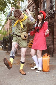 Ahhh Moonrise Kingdom! Amazing couple's Halloween costume from Keiko Lynn (and her boyfriend).
