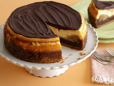 """""""Chocolate Explosion Cheesecake"""", Total Time: 10 hr 35 min, Prep 30 min, Inactive 8 hr 35 min, Cook 1 hr 30 min, Yield: 1 (9-inch) cheesecake, Level: Intermediate   Take a Quick Break"""