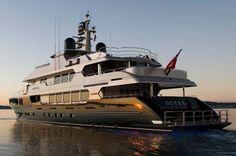 """Christensen Yachts' """"Odessa"""""""
