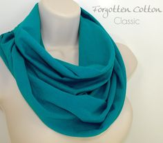 Shoply.com -Infinity Scarf Teal Jade. Only $20.00