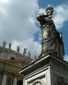 St. Peter's Square. Rome, Italy