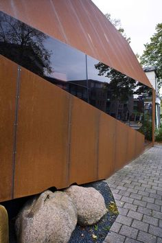 1000 images about corten steel on pinterest corten. Black Bedroom Furniture Sets. Home Design Ideas