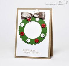 Bettys Crafts: Glückliche Weihnachten - die zweite